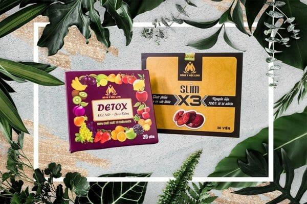 Giảm cân Slim X3 - Thực phẩm bảo vệ sức khỏe