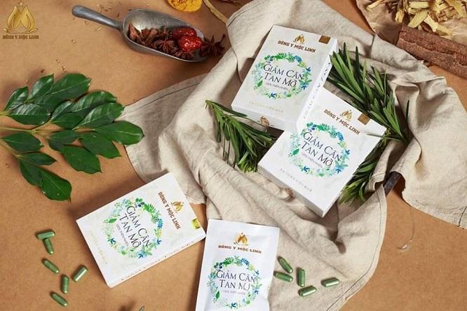 Giảm cân tan mỡ - Đông Y Mộc Linh - Thực phẩm bảo vệ sức khỏe