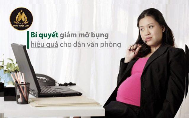 Bí quyết giảm mỡ bụng dành cho dân văn phòng siêu hiệu quả