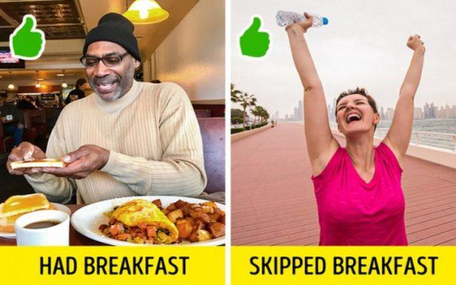 Không bao giờ bỏ bữa sáng