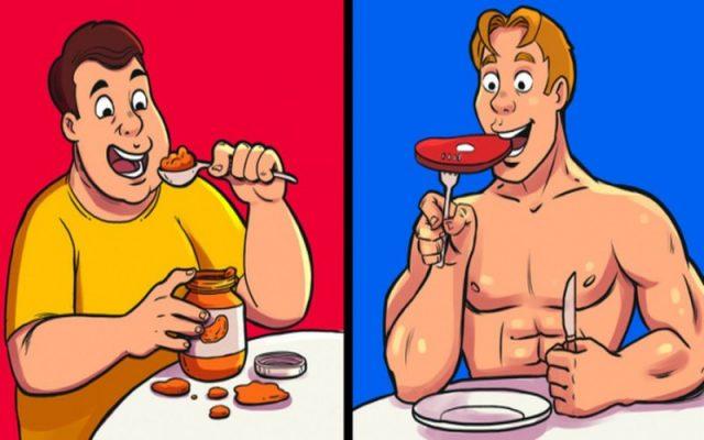 Nghĩ rằng calories trong mọi thực phẩm đều như nhau