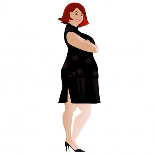 Mỡ tập trung tích tụ chủ yếu phần bụng dưới
