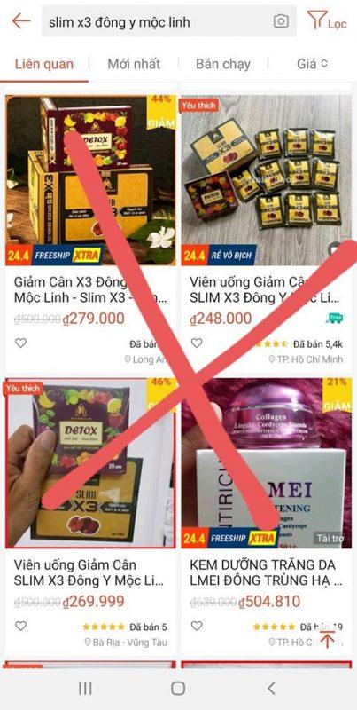 Slim-X3-lam-gia-hang-nhai-kem-chat-luong-Canh-bao-1