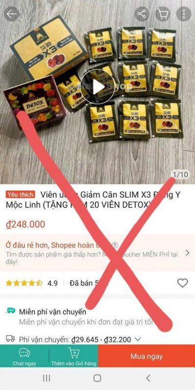 Slim-X3-lam-gia-hang-nhai-kem-chat-luong-Canh-bao-3