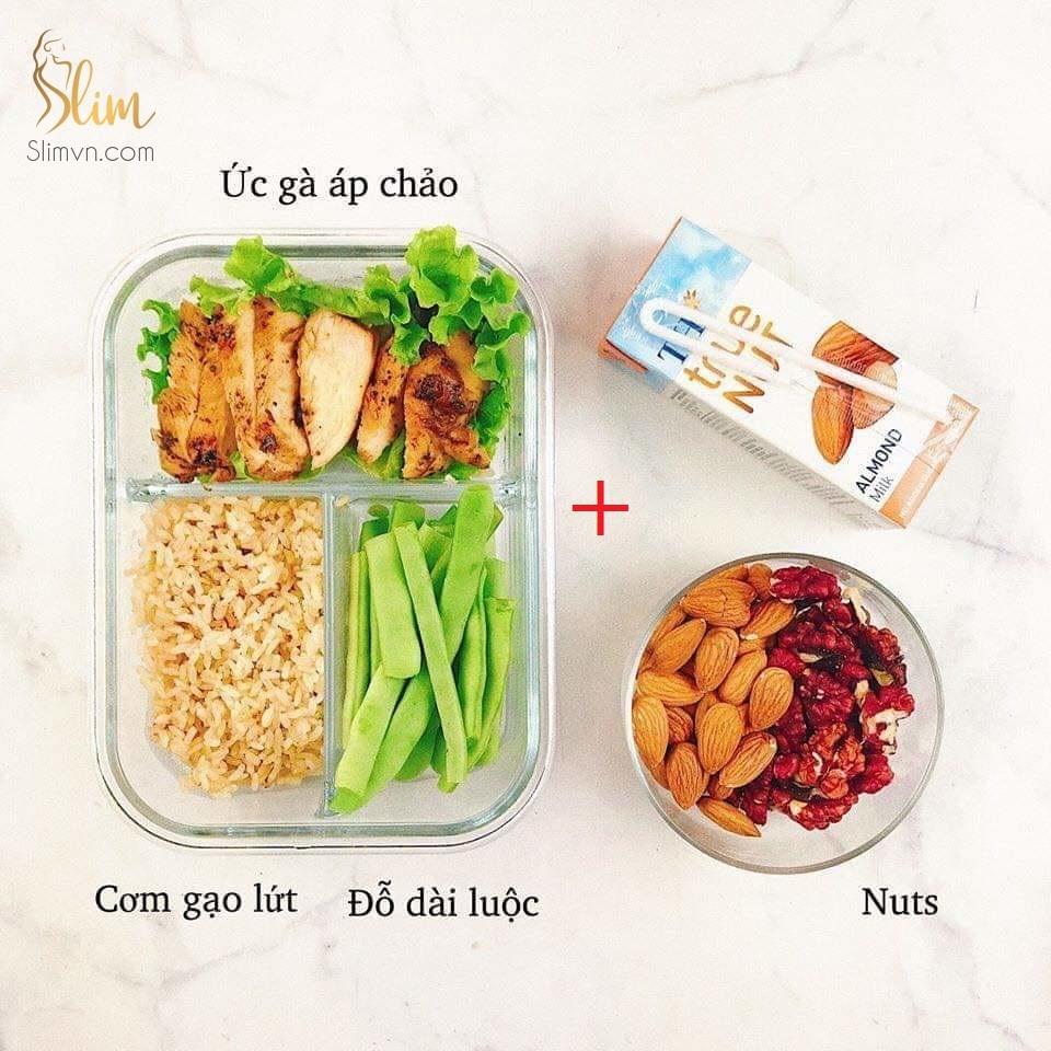 Thực đơn giảm cân đơn giản 7 ngày tại nhà part4