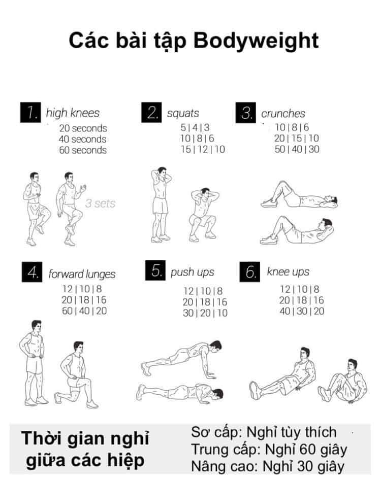 Ngay 25 tap the duc giam can tai nha 30 bài tập Cardio giảm cân giảm mỡ hiệu quả đơn giản tại nhà