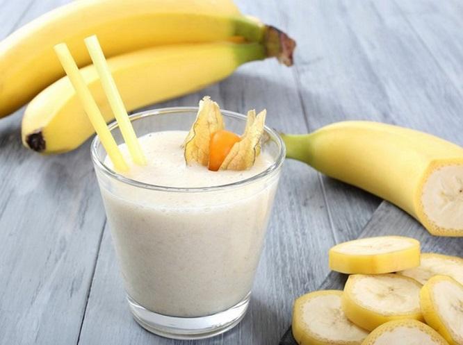 Sinh tố chuối - giúp giảm cân