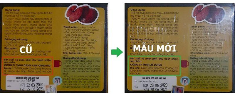 Thông báo đổi tên công ty - Mau moi - Slim X3 - cover
