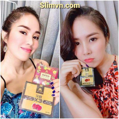 Diễn viên Lê Phương giảm 30 cân cùng Slim X3