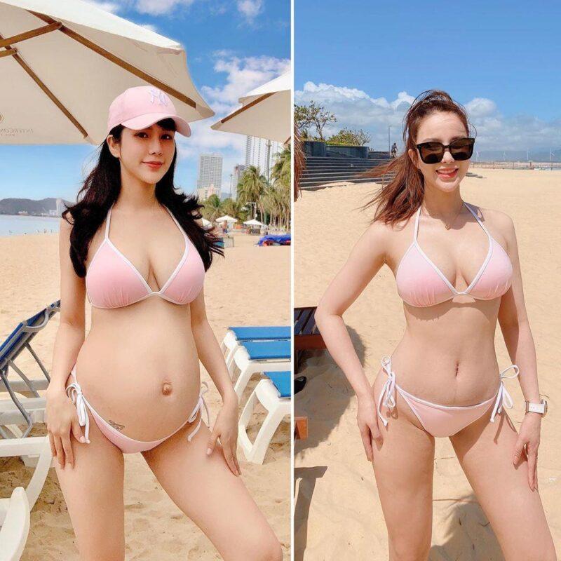 Diệp Lâm Anh giảm cân - hình ảnh trước và giảm cân sau sinh