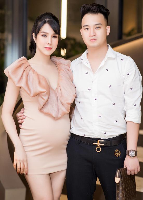 Diệp Lâm Anh và ông Xã - Thời kỳ mang thai 06 tháng