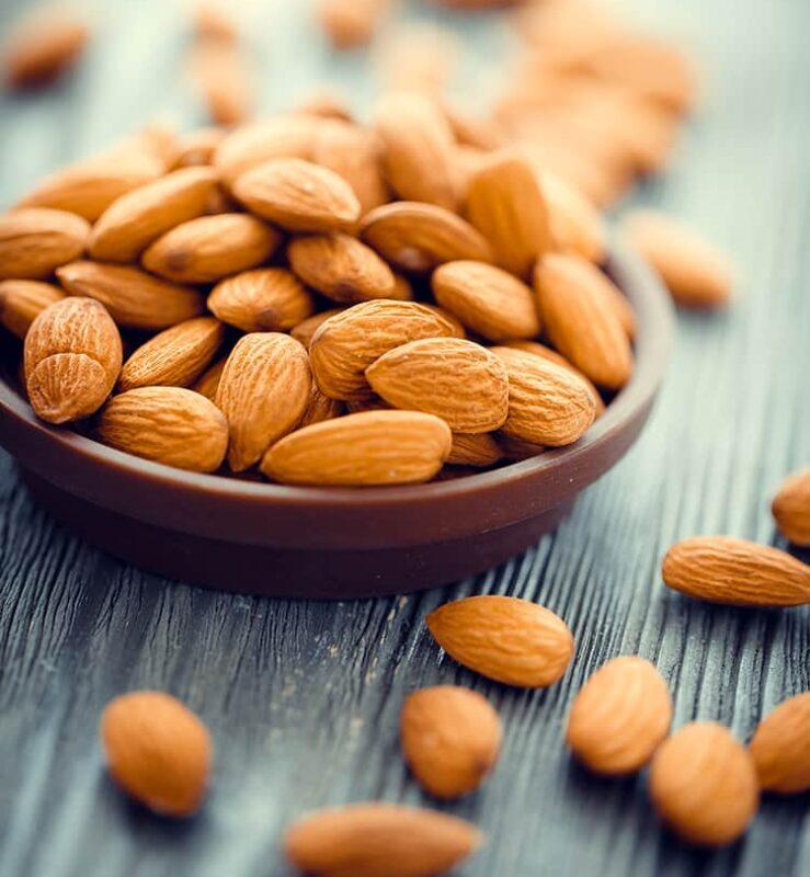 Hạnh nhân - 7 loại thực phẩm nên ăn tăng cơ bụng giảm mỡ