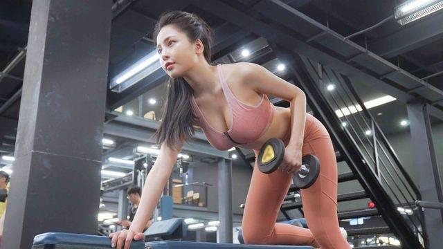 Các giảm cân của Trâm Anh là luyện tập thể thao giảm cân thành công