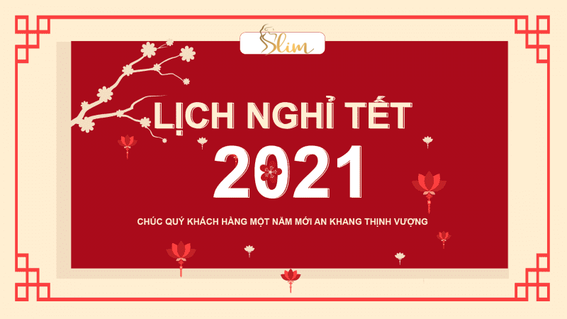 Slim X3 Chuc mung nam moi Tan suu 2021 Chúc mừng năm mới Tân Sửu 2021
