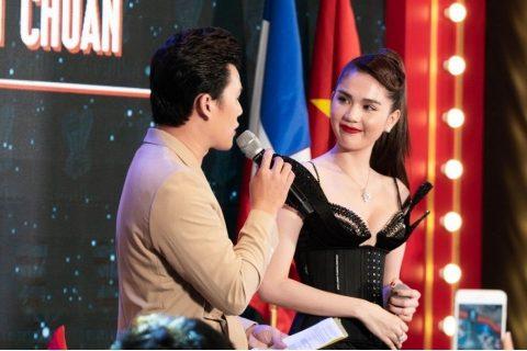 Ngọc Trinh hào hứng trong lần đầu hợp tác với Nguyễn Tiến Truyển