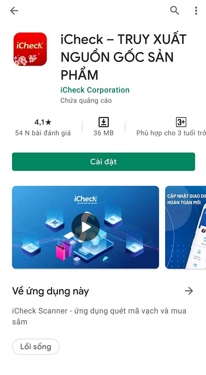 Phát hiện hàng giả Slim X3 bằng phần mềm iCheck truy xuất nguồn gốc