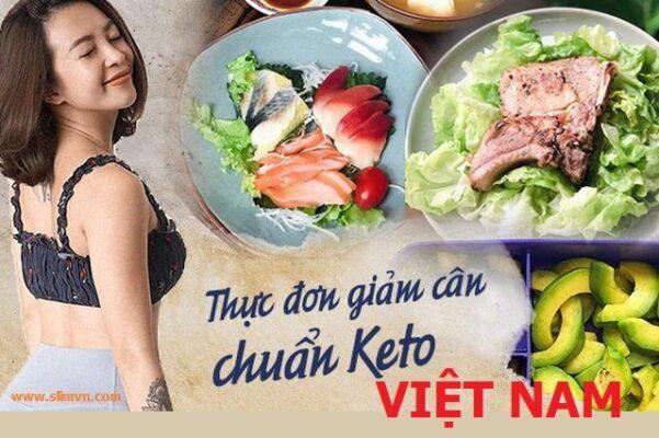 Thực đơn KETO Việt Nam 28 ngày siêu hiệu quả - cover