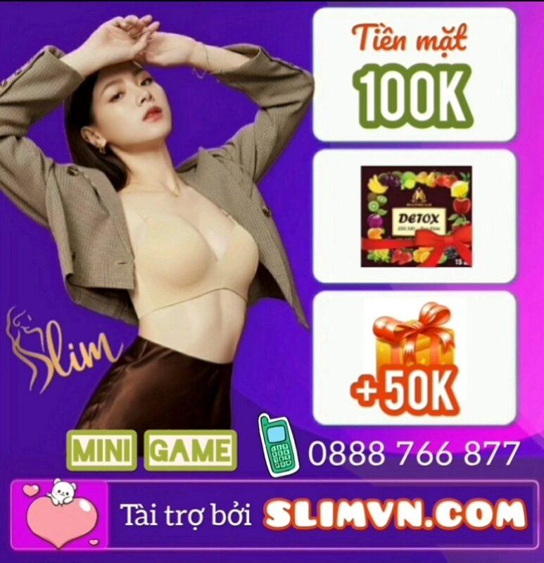 Mini Game Giảm cân Slim X3 - Nhận quà hot hàng tuần