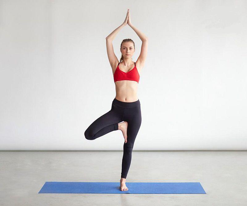 Bài tập tăng chiều cao cho cả nam và nữ - động tác tư thế đứng 1 chân