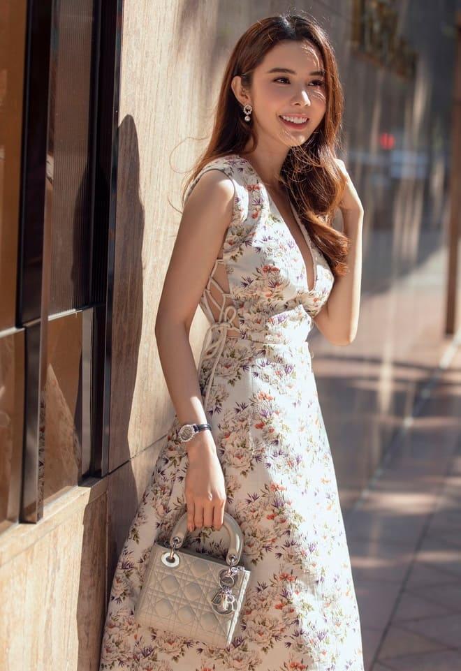 Miss Huỳnh Vy - Hoa hậu du lịch thế giới đam mê làm kinh doanh và người mẫu