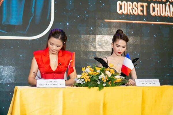 Corset Chuẩn 2021 - Ngọc Trinh ký kết trở thành đại sức thương hiệu độc quyền