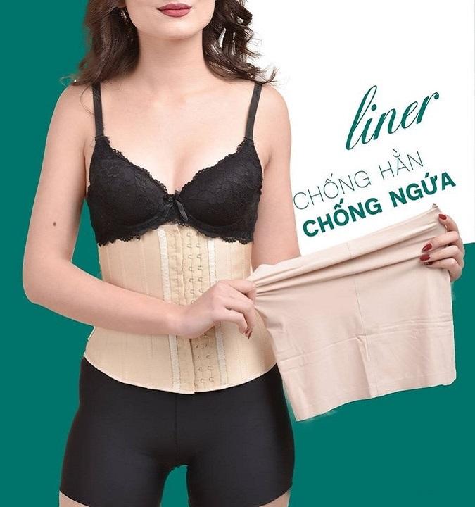 Áo Liner Corset - Đai Latex Hy Lap - giúp thấm hút mồ hôi - chống ngứa - chống hằn 1