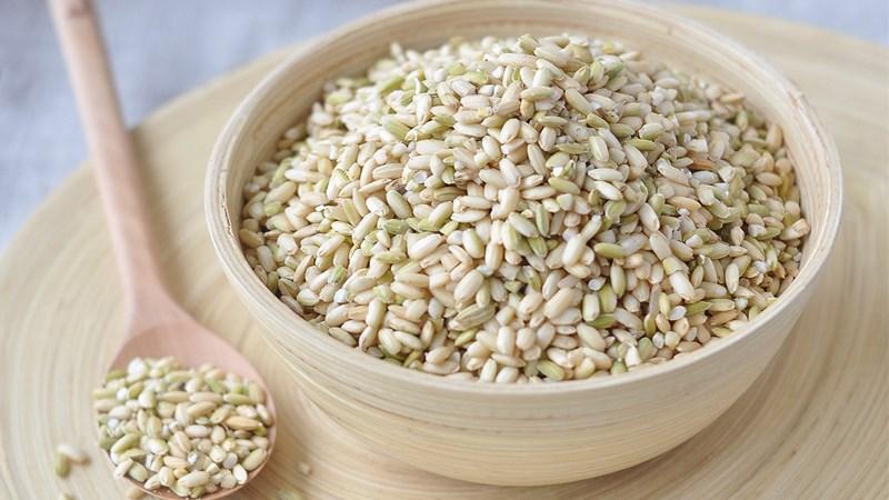 Gạo lứt giảm cân loại gạo nếp - Gợi ý thực đơn 7 ngày