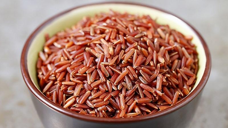 Gạo lứt giảm cân màu đỏ - Gợi ý thực đơn 7 ngày