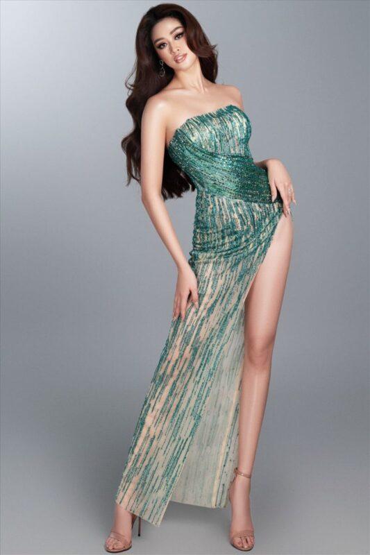 Miss Khánh Vân - hoa hậu hoàn vũ Việt Nam - cover