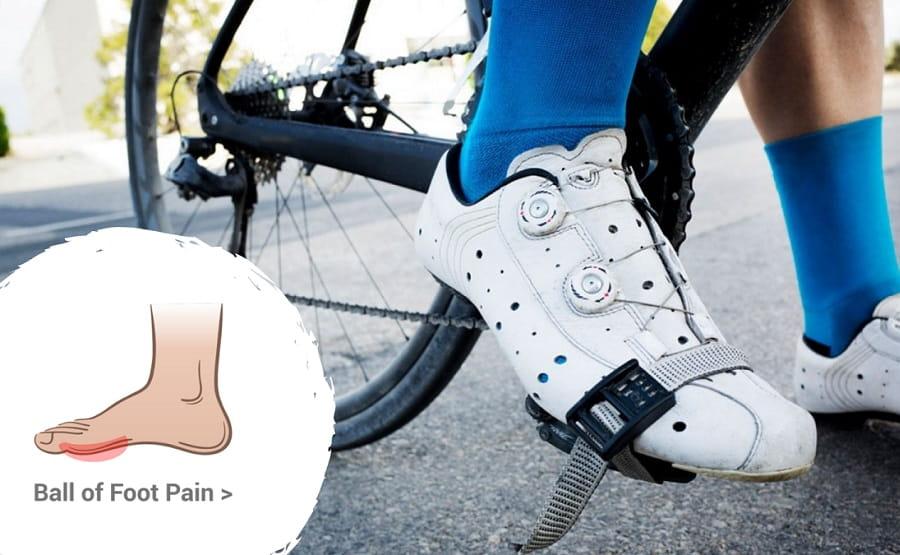 6 chấn thương VĐV đạp xe gặp chấn thương đau bàn chân
