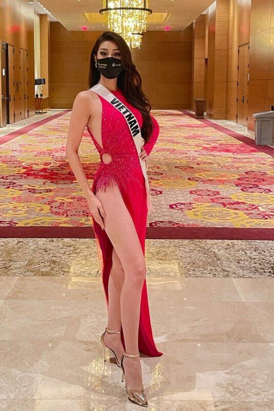 Hoa hậu Khánh Vân lọt vào top 21 Miss Universe 2020 tại Mỹ