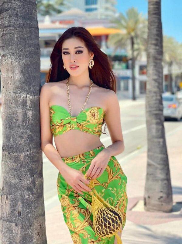 Hoa hậu hoàn vũ Khánh Vân lọt vào top 21 Miss Universe 2020 tại Mỹ