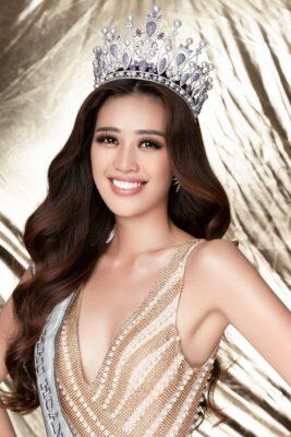 Miss Khánh Vân - hoa hậu hoàn vũ Việt Nam