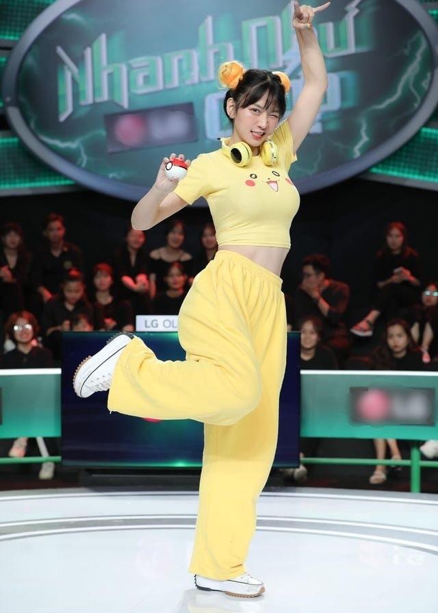 Hotgirl Gymmer Lê Bống tham gia chương trình Game show Nhanh như chớp