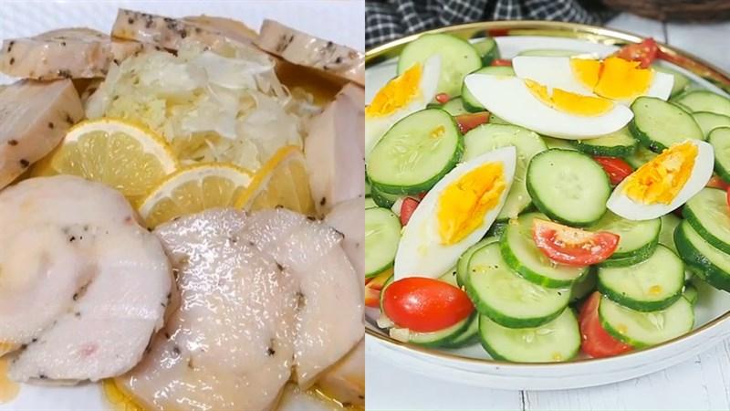Thực đơn giảm cân cho nữ - bữa tối đơn giản
