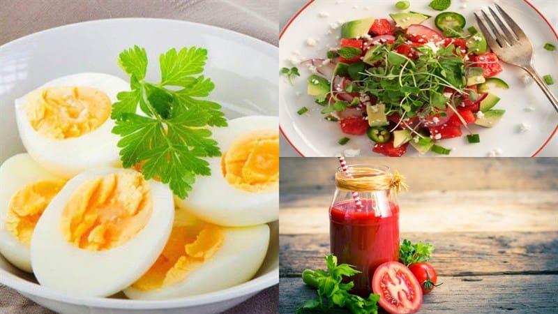 Thực đơn giảm cân cho nữ - chất béo tốt - bữa trưa
