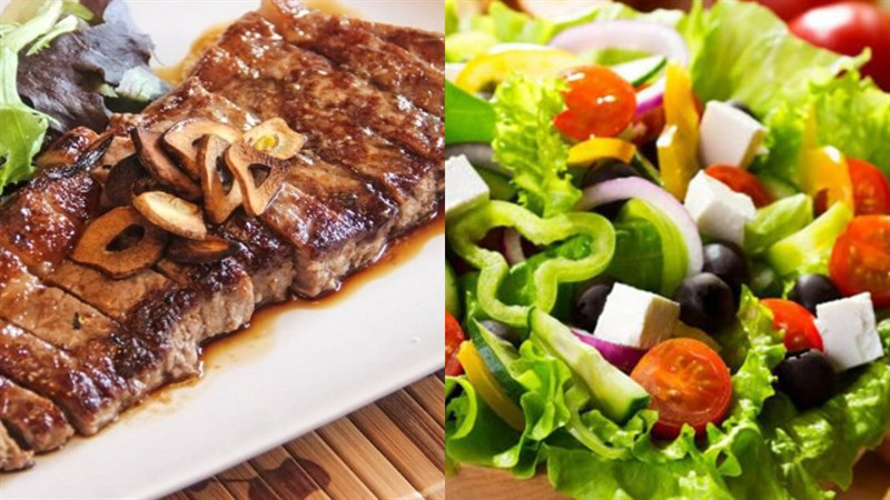 Thực đơn giảm cân cho nữ ít calo - bữa tối
