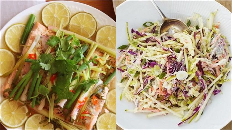 Thực đơn giảm cân cho nữ ít calo - bữa trưa