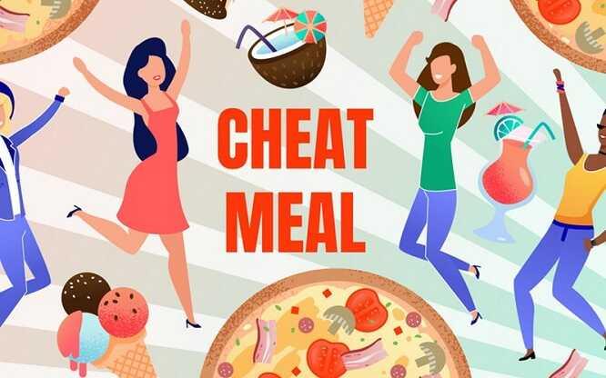 Bí quyết giảm cân hiệu quả - cheat meal - cheat day
