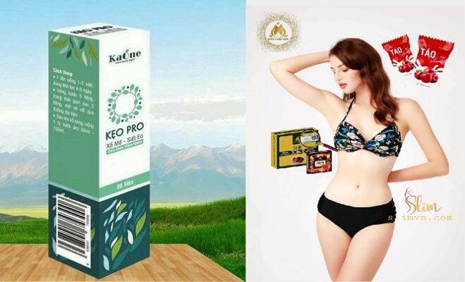 Táo Slim và Keo Pro hỗ trọ giảm mỡ - Xổ mỡ siết eo cover